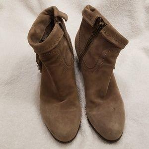 Sam Elelman fringe boots ... size 8.5